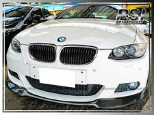 AC Type Carbon Fiber Front Bumper Lip w/ M-Sports for 2007-2010 BMW E92 E93