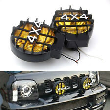 For Jeep 4x4 Truck Pickup Roof & Bumper Halogen Driving Fog Spot Light Lamp Pair