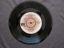 "SG 7"" 45 rpm 1977 DAVID SOUL - GOING IN WITH MY EYES OPEN / TOPANGA"