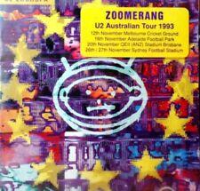 U2 ORIGINAL AUSTRALIAN ZOOROPA Polygram CD with RARE AUS 1993 TOUR Case Sticker