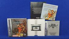 Gameboy Advance KINGDOM HEARTS Chain of Memories Genuine BOXED MINT GBA PAL