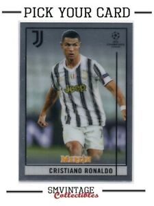 2021 Topps Merlin Chrome UEFA Champions League - Base Card - Pick Your Card