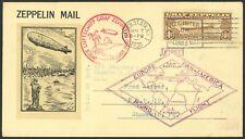 C14 - $1.30 Zeppelin Roessler Flight Cover - FRESH
