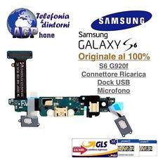 Connettore Ricarica Microfono Flat Flex Samsung Galaxy S6 G920f G920 Originale