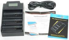 TR-008 CARICABATTERIA TRUSTFIRE 32650 26650 18650 charger LI-ION LITIO 3.7V 3.0V