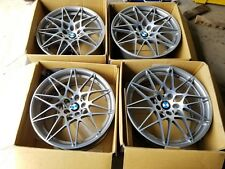 """Bmw 20"""" M2 M3 M4 666m Sport F80 F82 F83 Original Factory Oem Wheels Rims"""