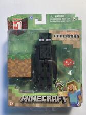 2014 Minecraft Overworld Enderman Figure Series 1 New Sealed