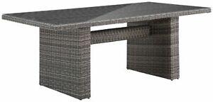 KONIFERA Gartentisch Florenz 13-tlg. Tisch 200x100cm Polyrattan B43337518T