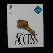 Microsoft Access Arabic AR 2.00 (1.44MB) DB07161 Retail Version in Sealed Box