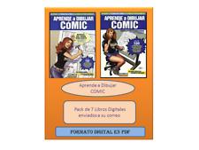Aprender a Dibujar Comic , Pack 7 Libros Digitales En Formato PDF,