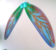 MASQUERADE HALLOWEEN GREEN PIXIE WINGS FOR GIRLS AND YOUNG ADULTS NEW