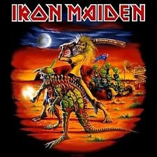 Iron Maiden - Australian Tour Shirt Heavy Metal Sticker, Magnet