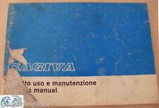 CAGIVA libretto uso e manutenzione SXT 125