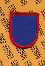 USA Element Special Operations Cmd. North SOCNOR Airborne Beret Flash patch T-2