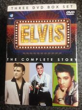 elvis the complete story three dvd box set, Elvis Presley - New Sealed