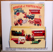 MATCHBOX Models of Yesteryear GIFT set 7 Tramcar Y-3,4,11,12,13 CERAMIC TILE