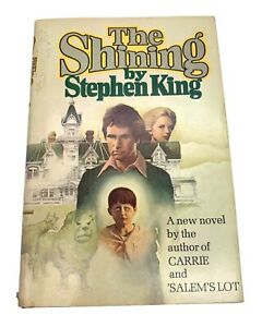 The Shining - Stephen King - Book Club Edition - 1977 - Dust Jacket - Doubleday