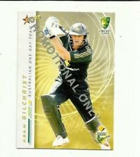 2007 SELECT CRICKET AUSTRALIA ADAM GILCHRIST #15 PROMO CARD FREE POST