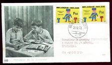 enveloppe philatélique . Philatélie de la Jeunesse . Belgique. Bruxelles. 1970