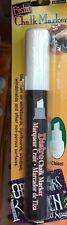 Marvy UCHIDA Bistro White Chalk Marker Whiteboard Lightboard Window Ad Pen