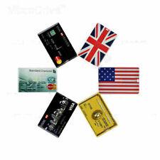 Credit Card USB Flash Drive Memory Stick USB 2.0 Pen Drive Thumb Drive Lot