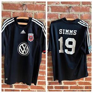 Adidas Vtg rare MLS DC United soccer jersey mens Sz M