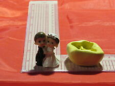 Wedding Couple Silicone Mold Bride and Groom 310 Fondant Chocolate Resin Clay