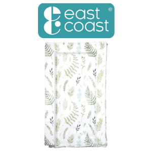 East Coast Nursery Botanical Green Padded Wipe Clean Baby Changing Mat