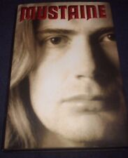"""MEGADETH SIGNED DAVE MUSTAINE BOOK TITLED """"MUSTAINE"""" 1ST ED HOT READ! PROOF!"""
