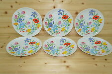 "Heinrich Primavera Lot of (6) Salad Plates, 7 3/4"""