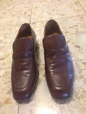 BALLYS MENS SHOES 7.5 marlon extra souple wing brown loaffer