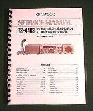 Kenwood TS-440S Service Manual - Premium Card Stock Covers & 32 LB Paper!