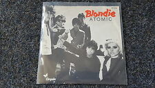 Blondie - Atomic 7'' Single Holland DIFFERENT COVER