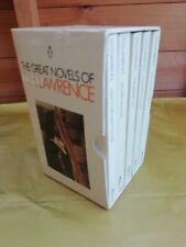 D H Lawrence 5 Vintage Paperback Book Box Set collection - Penguin