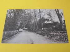 West Amesbury Road Salisbury Plain UK Postcard F T Fuller Photo