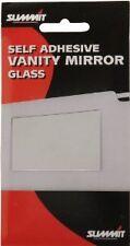 CAR VANITY INTERIOR MIRROR GLASS SELF ADHESIVE FOR SUN VISOR DOING MAKE UP HAIR