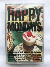 Happy Mondays – Squirrel And G-Man Twenty Four Hour P K7 CASSETTE AUDIO TAPE C2