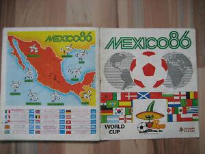 Panini Mexico 86 WM ,Album komplett, guter Zustand, mit original Bestellschein.