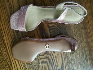 Michael Kors Sandals Color Pink, Size 6 1/2 , New with Box