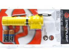 STREAMLIGHT Yellow POLYTAC 90 Flashlight 170 Lumen LED Right Angle Light! 88831