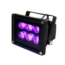 18W 6LED UV Lamp Inks 395nm 365nm UV Glue Curing Nail Dryer Money Detector Lamp