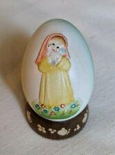 Anri 1981 Annual Egg, fourth in series by Ferrandiz, style 624381