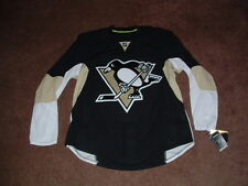PITTSBURGH PENGUINS 2012-16 BLACK AUTHENTIC HOCKEY JERSEY sz 54 NWT