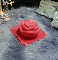 Handgemachte Latexgießform Gießform Betongießform Beton Blume Blüte Rose (074)