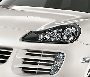 Porsche 957 Cayenne Black Headlights HID Xenon OEM Factory 2008 to 2011