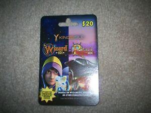 Safeway Wizard 101 Game Card Crowns Jewel Reward, new