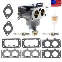 Carburetor Gasket Set for John Deere LA135 LA140 LA145 LA150 Lawn Mower MIA10632