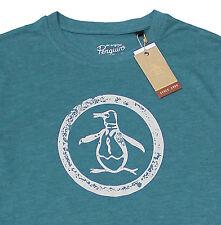 Men's PENGUIN Vintage Logo Green T-Shirt Tee Shirt XXL 2XL NWT NEW