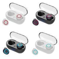 W12 Bluetooth 5.0 Mini Headset TWS Wireless Earphones Earbuds Stereo Headphone