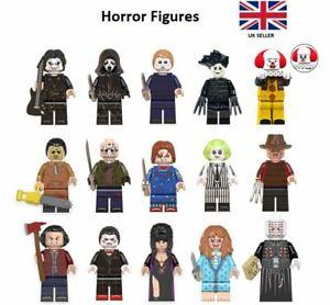 Horror Mini Figures Freddy Krueger Michael Myers Beetlejuice Chucky Friday 13th